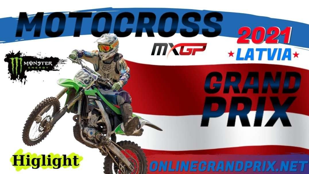 MXGP of Latvia Highlights 2021 MXGP