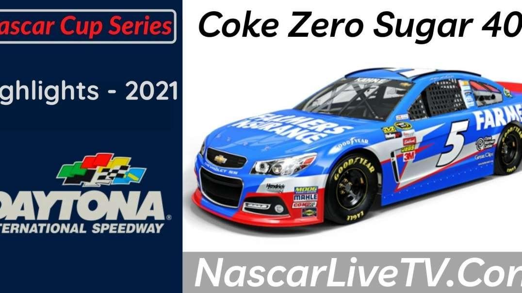 Coke Zero Sugar 400 Highlights NASCAR Cup Series 2021