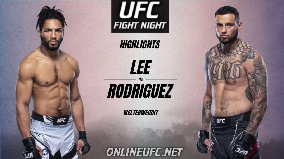 Kevin Lee vs Daniel Rodriguez Highlights 2021 | UFC Fight Night
