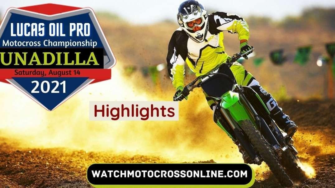 Unadilla National Motocross Highlights 2021
