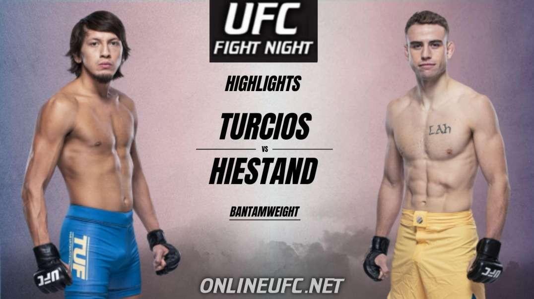 Ricky Turcios vs Brady Hiestand Highlights 2021 | UFC Fight Night
