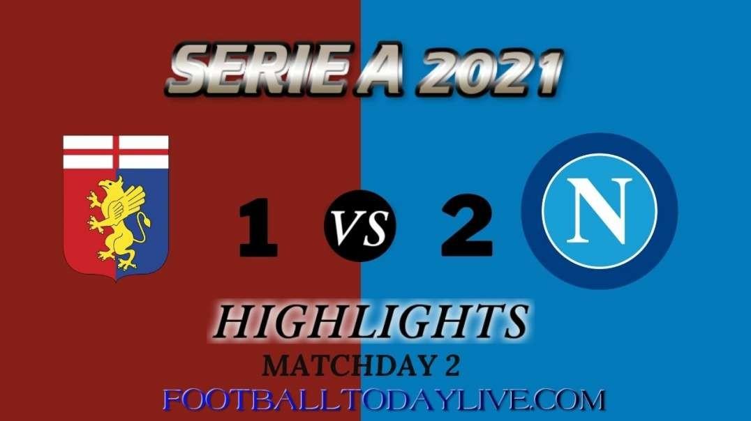 Genoa vs Napoli Highlights 2021 | Serie A Week 2