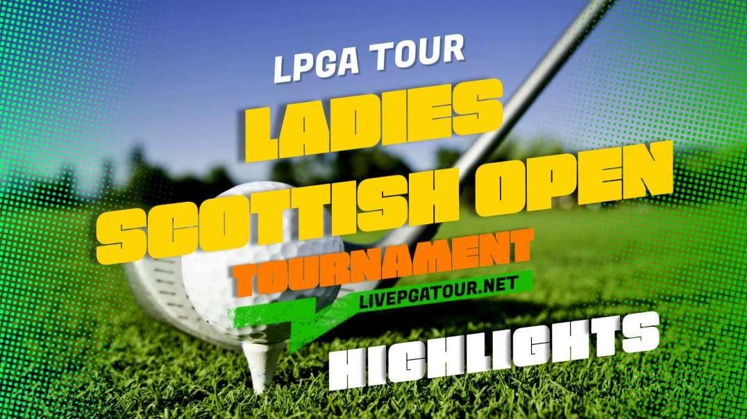Ladies Scottish Open Day 2 Highlights 2021 | LPGA Tour