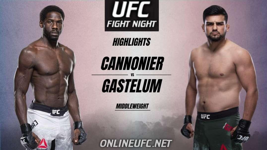 Jared Cannonier vs Kelvin Gastelum Highlights 2021 | UFC Fight Night