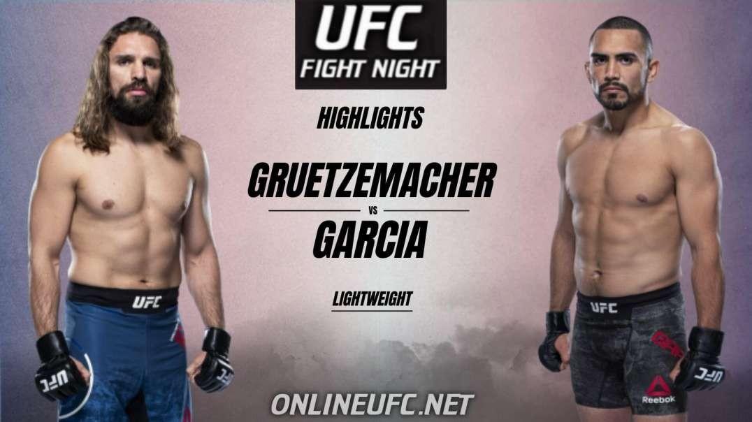 Chris Gruetzemacher vs Rafa Garcia Highlights 2021 UFC