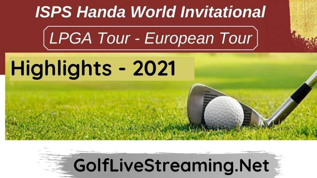 ISPS Handa World Invitational Round 2 Highlights 2021