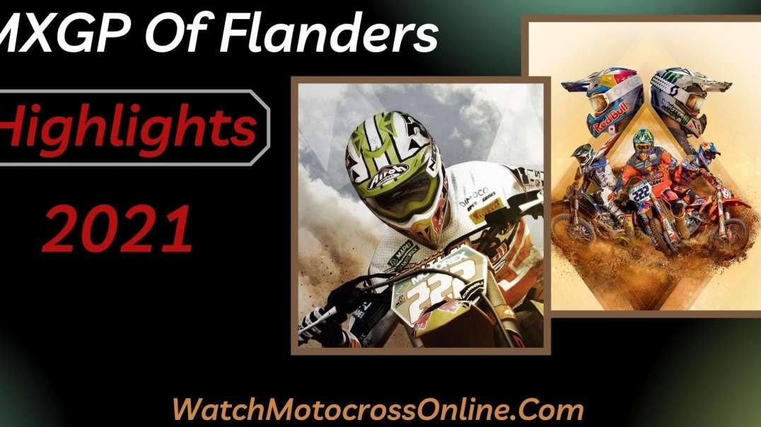 MXGP Of Flanders Highlights 2021