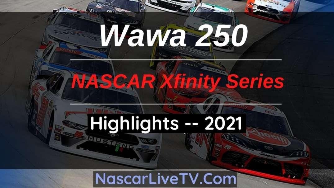 WAWA 250 Highlights NASCAR Xfinity Series 2021