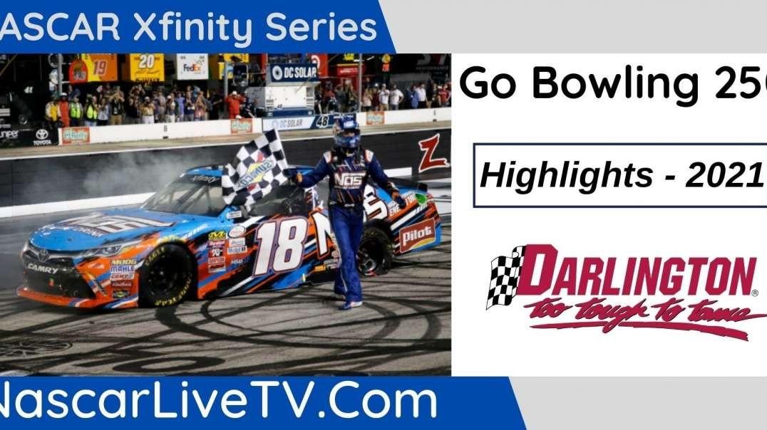 Go Bowling 250 Highlights NASCAR Xfinity Series 2021