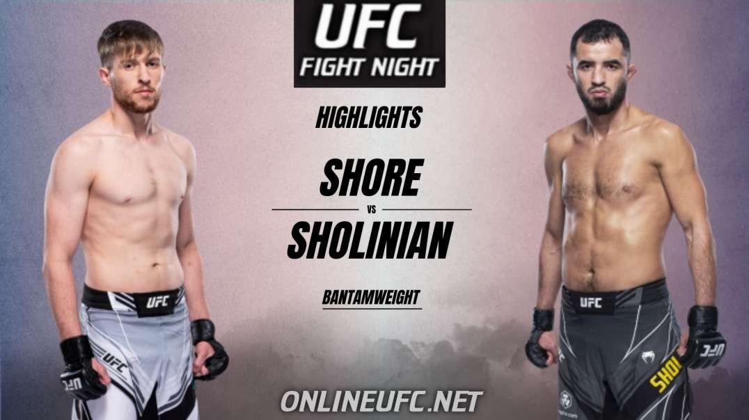 Shore Vs Sholinian Highlights 2021 | UFC Fight Night