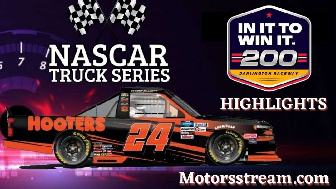 NASCAR In It To Win It 200 Highlights 2021   Truck Series
