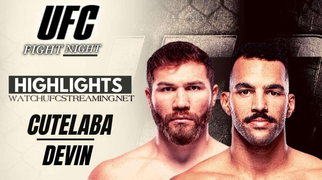UFC | Cutelaba vs Devin Highlights 2021