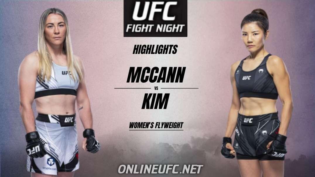 Molly McCann Vs Yeon Kim Highlights 2021 | UFC Fight Night