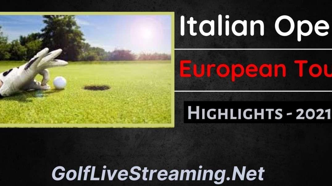 Italian Open Round 4 Highlights 2021 | European Tour