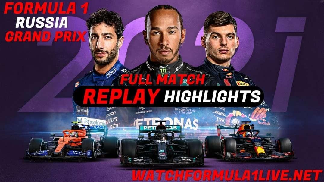 Formula 1 Russian Grand Prix 2021