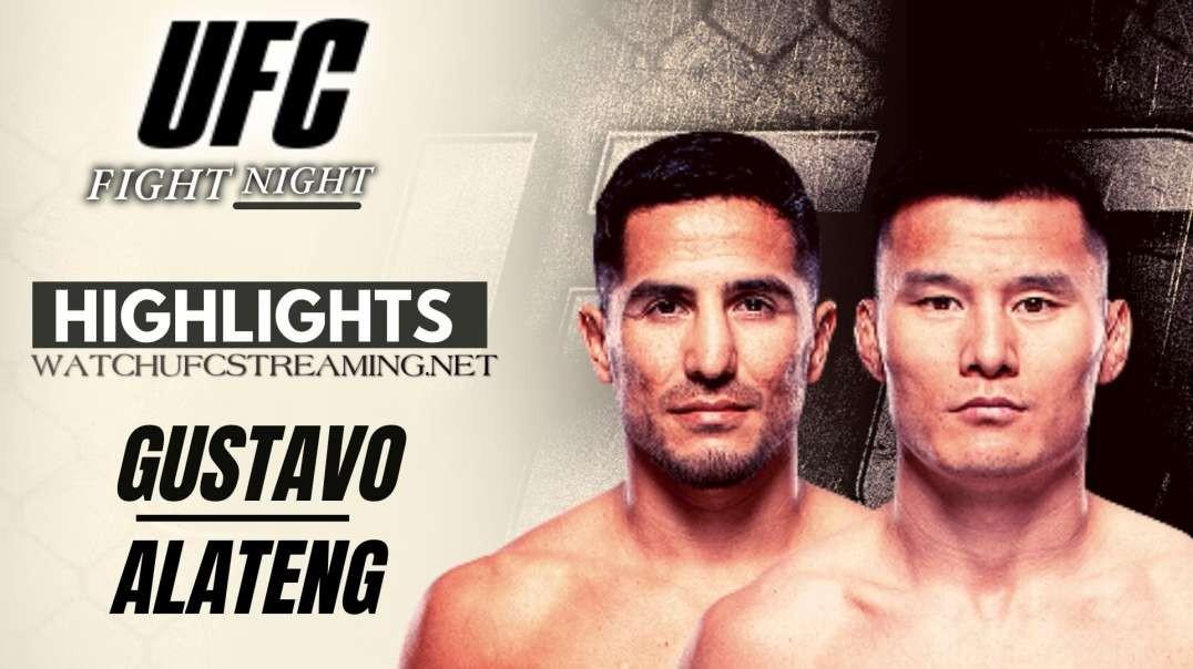 UFC | Gustavo vs Alateng Highlights 2021