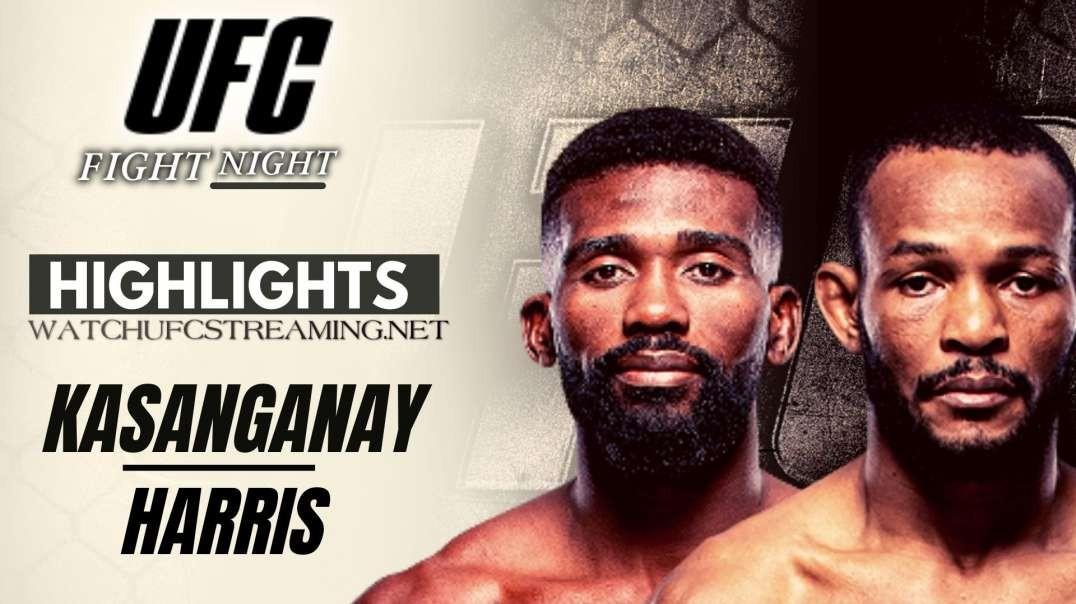 UFC | Kasanganay vs Harris Highlights 2021