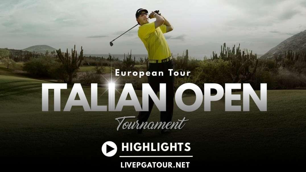 Italian Open Day 1 Highlights 2021 | European Tour