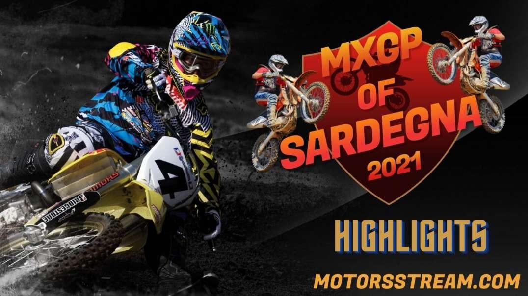 FIM Motocross Sardegna Highlights 2021 | MXGP