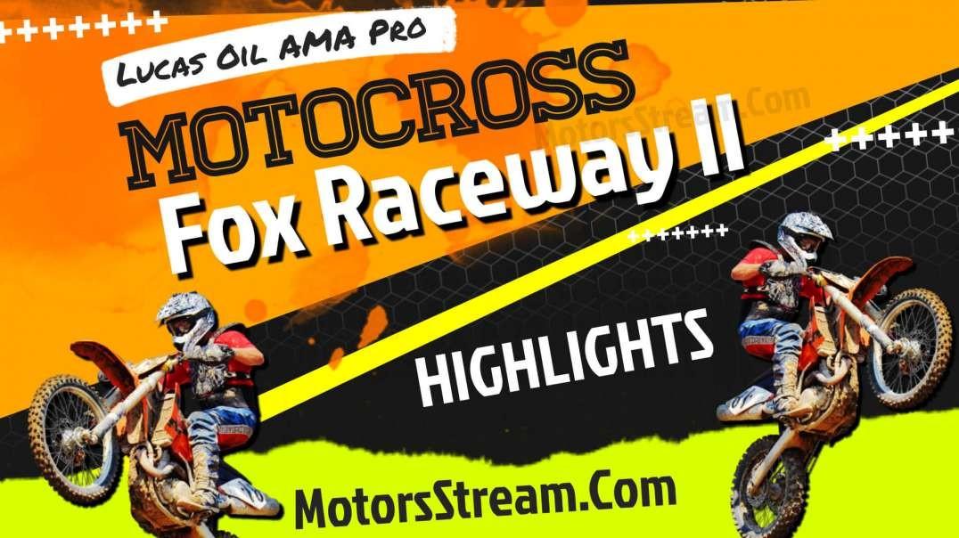 Fox Raceway 2 National Highlights 2021 | Motocross