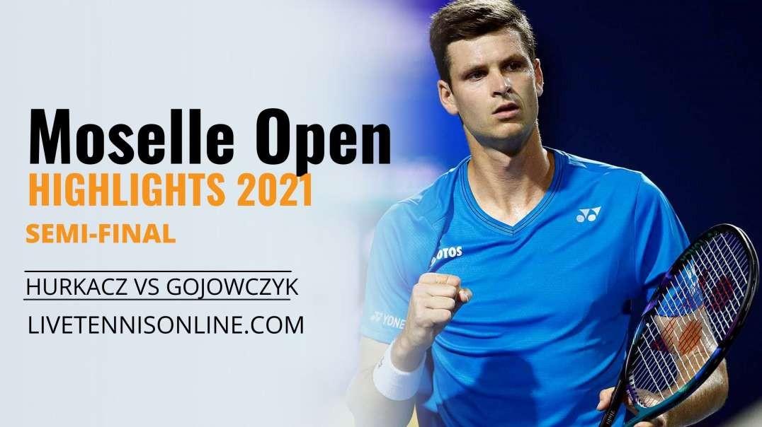 H. Hurkacz vs P. Gojowczyk S-F Highlights 2021   Moselle Open
