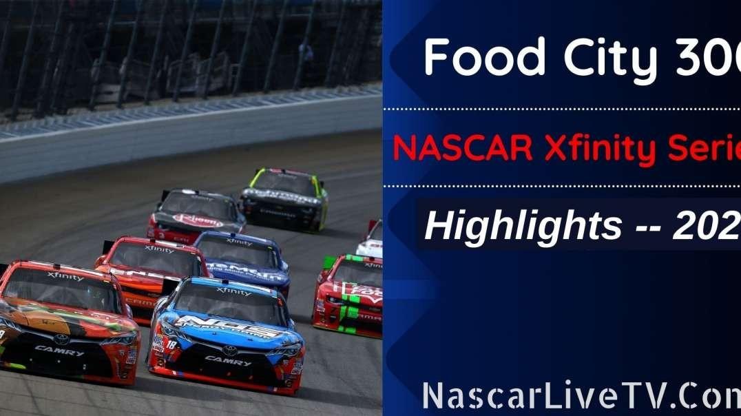 Food City 300 Highlights NASCAR Xfinity Series 2021