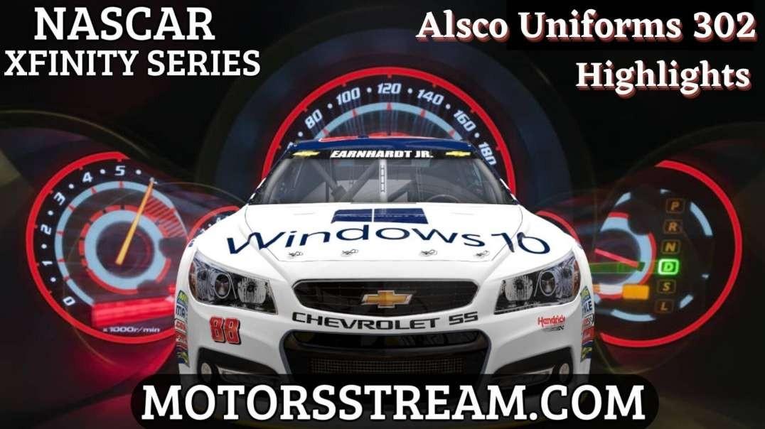 NASCAR Alsco Uniforms 302 Highlights 2021   Xfinity Series