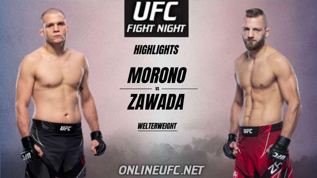 Morono vs Zawada Highlights 2021 | UFC Fight Night