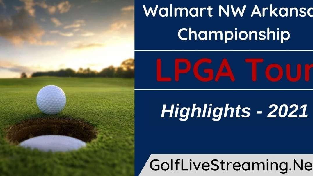Walmart NW Arkansas Championship Rd 2 Highlights 2021   LPGA Tour