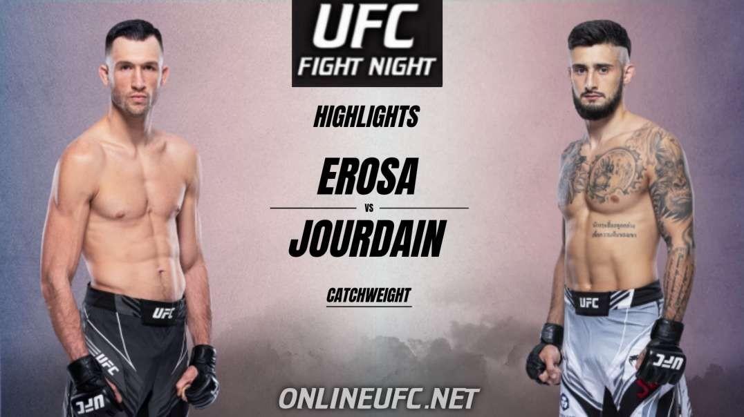 Erosa Vs Jourdain Highlights 2021 | UFC Fight Night