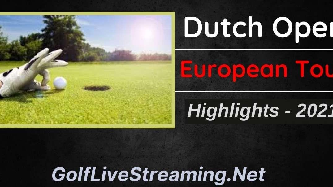 Dutch Open Round 3 Highlights 2021 | European Tour