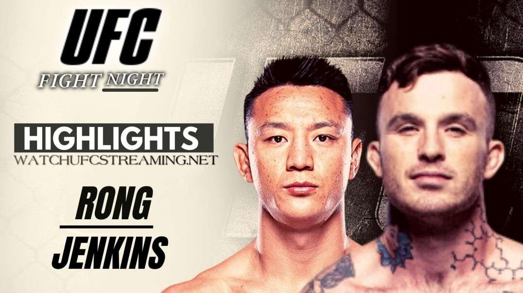 UFC | Rong vs Jenkins Highlights 2021
