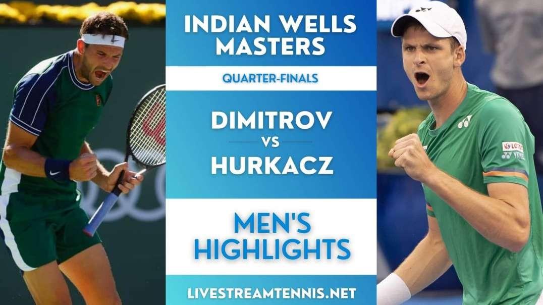 Indian Wells Masters Men Quarter-Final 2 Highlights 2021