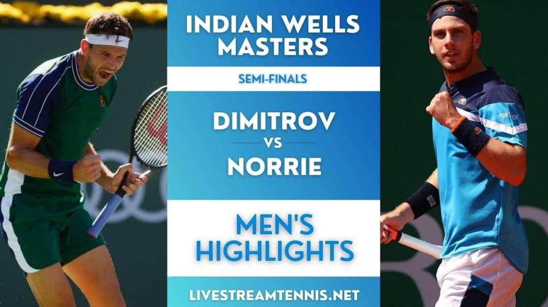 Indian Wells Masters Men Semi-Final 2 Highlights 2021
