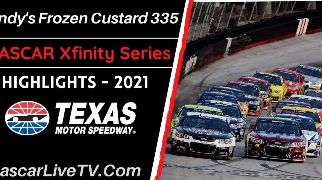 Andy's Frozen Custard 335 Highlights NASCAR Xfinity 2021