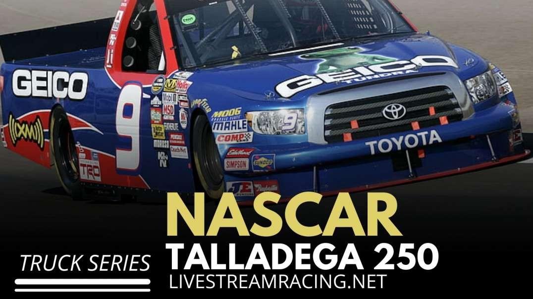 Nascar Talladega 250 Live Stream 2021 - Truck Series