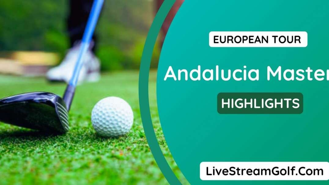 Andalucia Masters Rd 2 Highlights: European Tour 2021