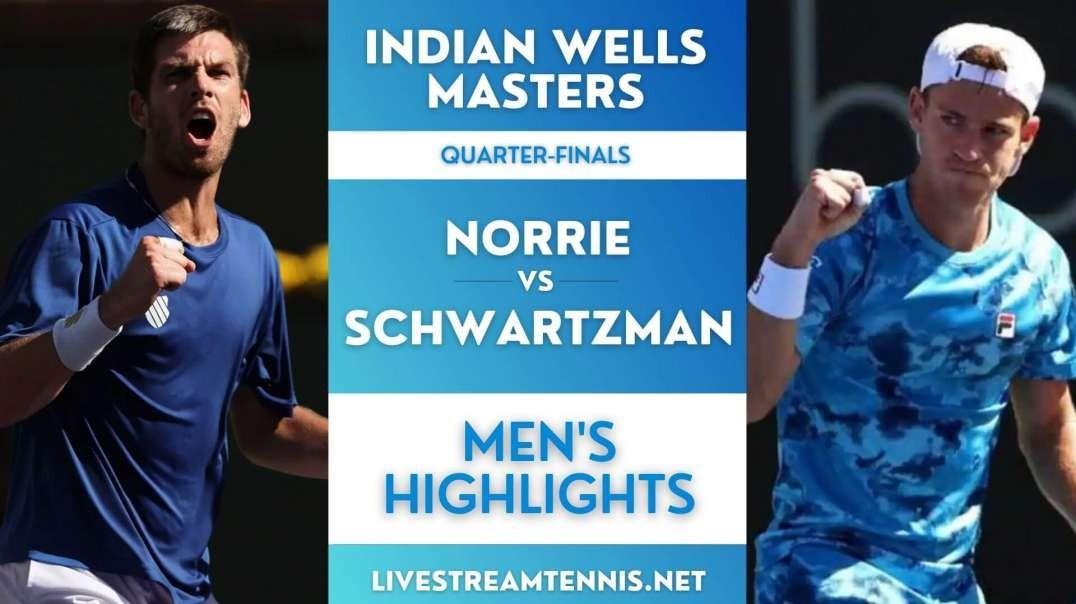 Indian Wells Masters Men Quarter-Final 1 Highlights 2021