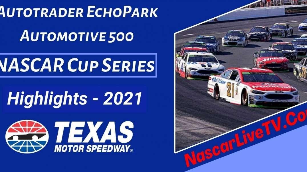 Autotrader Echopark Automotive 500 Highlights NASCAR Cup 2021