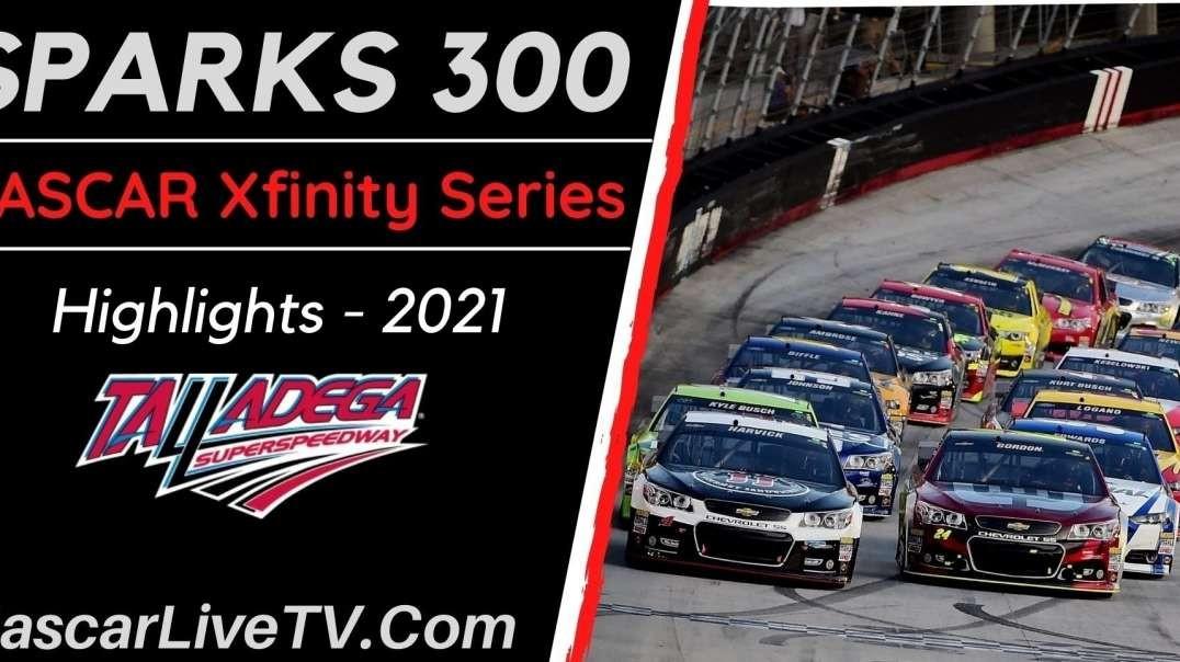 SPARKS 300 Highlights NASCAR Xfinity Series 2021