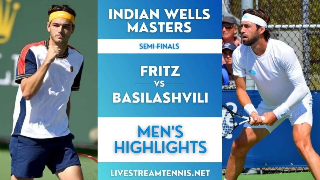 Indian Wells Masters Men Semi-Final 1 Highlights 2021