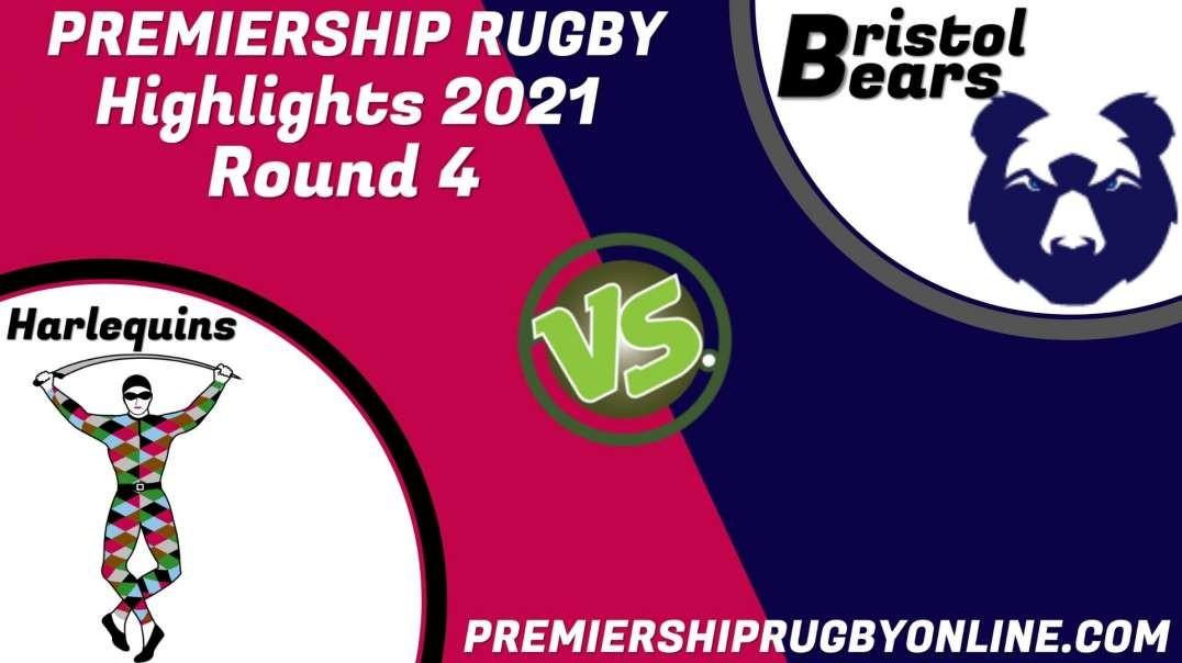 Harlequins vs Bristol Bears RD 4 Highlights 2021 Premiership Rugby