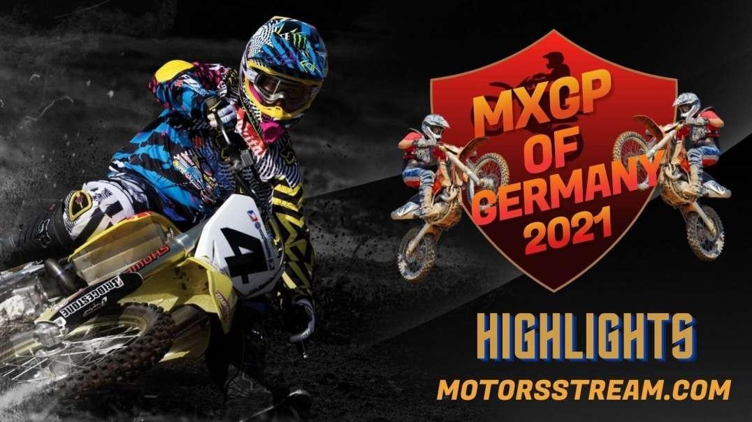 FIM Motocross Germany Highlights 2021 | MXGP