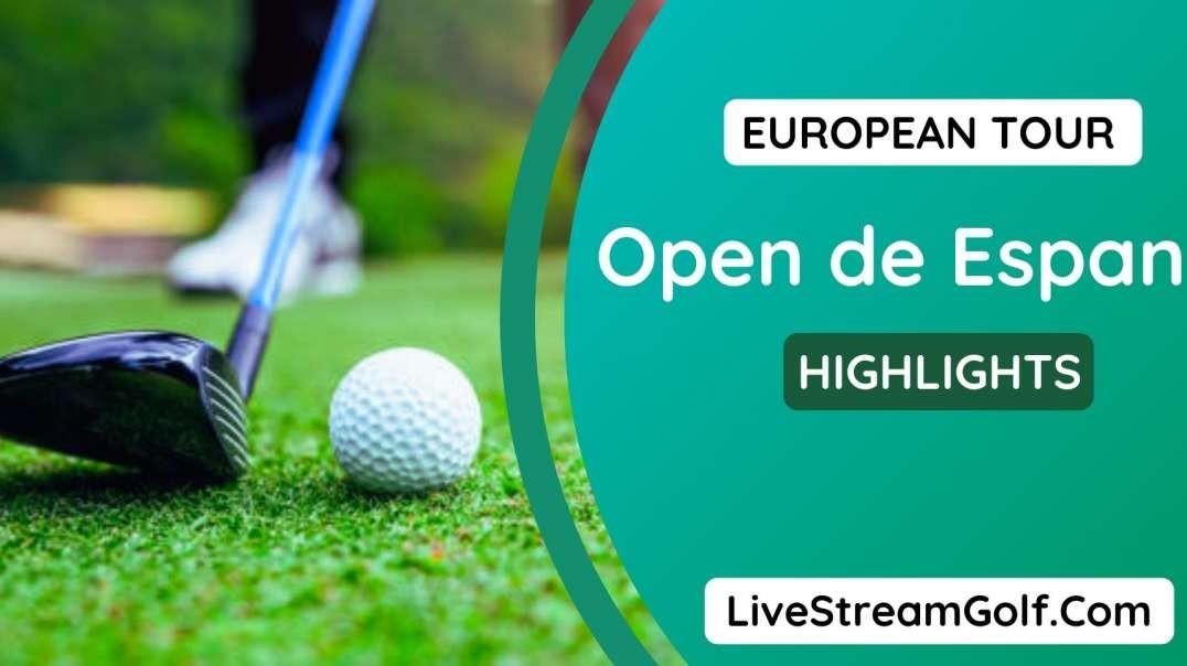 Open De Espana Rd 3 Highlights: European Tour 2021