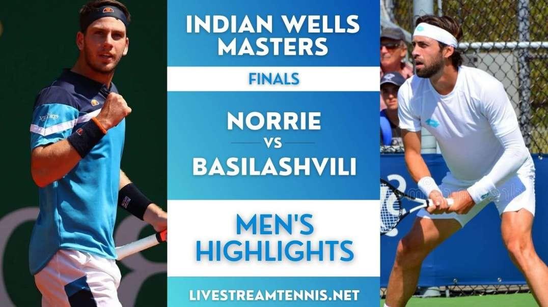 Indian Wells Masters Men Final Highlights 2021