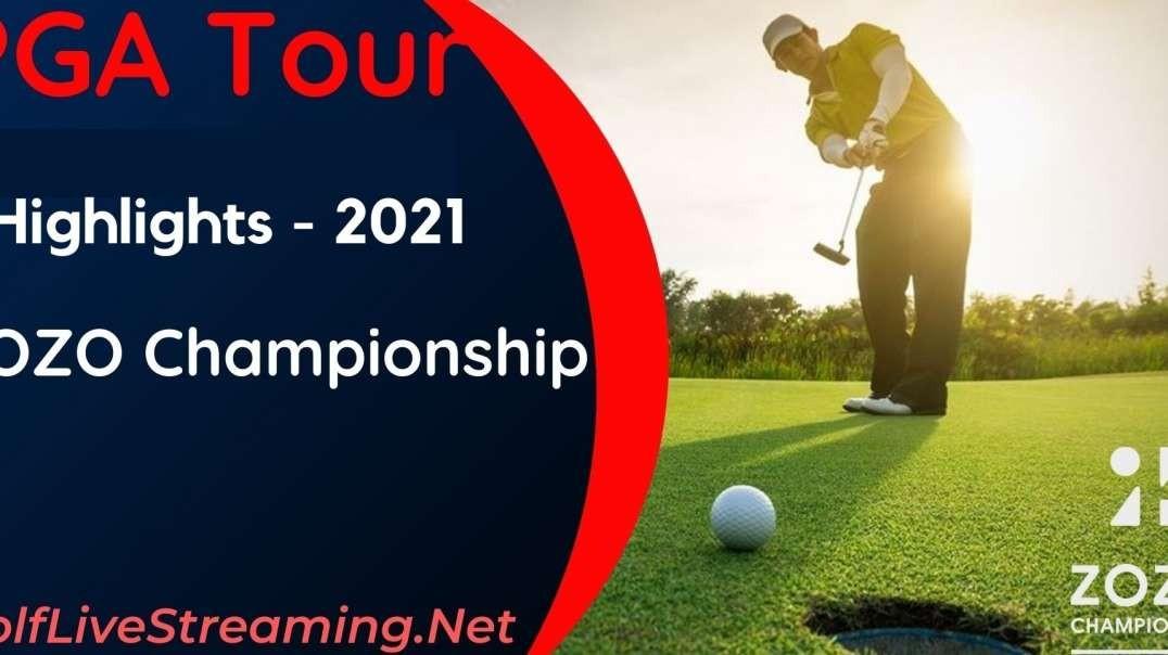 ZOZO Championship Round 1 Highlights 2021 | PGA Tour
