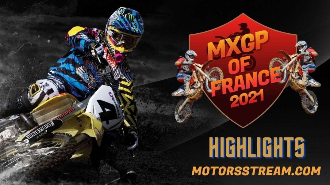 FIM Motocross France Highlights 2021 | MXGP